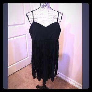 BB Dakota - black fringe dress
